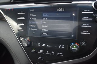 2018 Toyota Camry AXVH71R SL Red/Black 6 Speed Constant Variable Sedan Hybrid