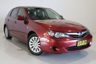 2011 Subaru Impreza G3 MY11 R AWD Red 4 Speed Sports Automatic Hatchback