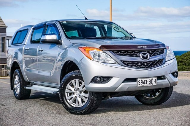 Used Mazda BT-50 UP0YF1 XTR Christies Beach, 2014 Mazda BT-50 UP0YF1 XTR Silver 6 Speed Sports Automatic Utility
