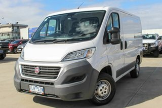 2017 Fiat Ducato Series 6 Low Roof SWB Comfort-matic White 6 Speed Sports Automatic Single Clutch.