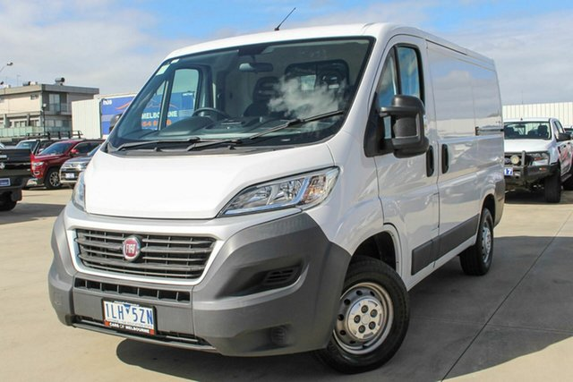 Used Fiat Ducato Series 6 Low Roof SWB Comfort-matic Coburg North, 2017 Fiat Ducato Series 6 Low Roof SWB Comfort-matic White 6 Speed Sports Automatic Single Clutch