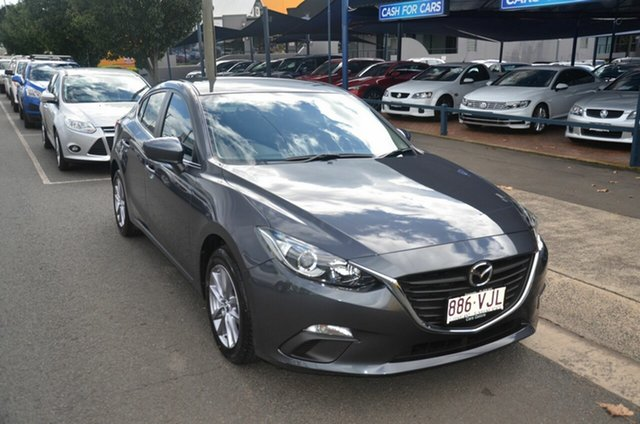 Used Mazda 3 BM Maxx Toowoomba, 2014 Mazda 3 BM Maxx Grey 6 Speed Automatic Sedan