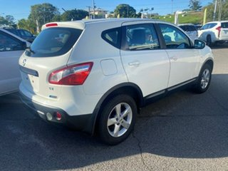 2011 Nissan Dualis J10 Series II MY2010 ST Hatch X-tronic White 6 Speed Constant Variable Hatchback