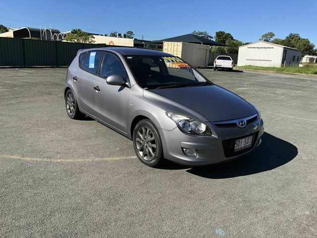 Used Hyundai i30 FD MY11 SR Kippa-Ring, 2011 Hyundai i30 FD MY11 SR Silver 5 Speed Manual Hatchback