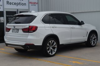 2013 BMW X5 F15 xDrive30d White 8 Speed Automatic Wagon.