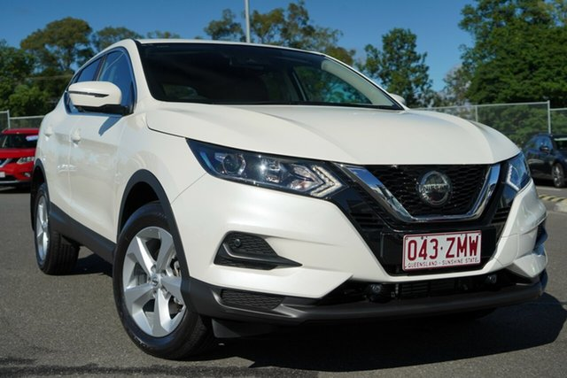 Used Nissan Qashqai J11 Series 3 MY20 ST X-tronic Hillcrest, 2019 Nissan Qashqai J11 Series 3 MY20 ST X-tronic White 1 Speed Constant Variable Wagon