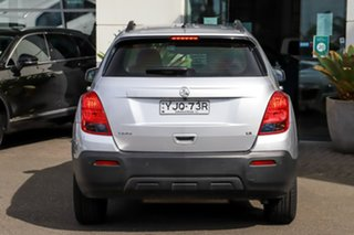 2016 Holden Trax TJ MY16 LS Silver, Chrome 6 Speed Automatic Wagon