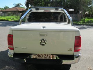 2013 Volkswagen Amarok 2H MY14 TDI420 4Motion Perm Highline White 8 Speed Automatic Utility.