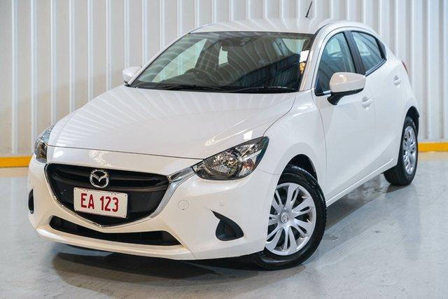 Used Mazda 2 DJ2HAA Neo SKYACTIV-Drive Hendra, 2018 Mazda 2 DJ2HAA Neo SKYACTIV-Drive White 6 Speed Sports Automatic Hatchback