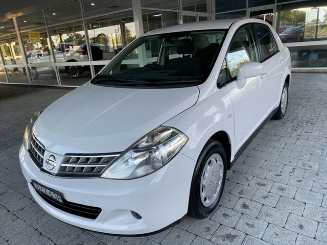 Used Nissan Tiida C11 Series 3 MY10 ST Taree, 2011 Nissan Tiida C11 Series 3 MY ST White 4 Speed Automatic Hatchback