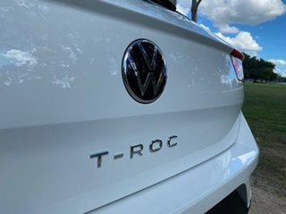 2021 Volkswagen T-ROC A1 MY21 110TSI Style Pure White 8 Speed Sports Automatic Wagon
