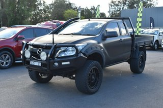 2017 Mazda BT-50 UR0YG1 XTR Freestyle Silver 6 Speed Manual Utility