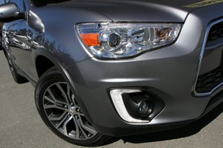 2016 Mitsubishi ASX XB MY15.5 XLS 2WD Titanium 6 Speed Constant Variable Wagon.