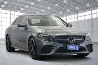 2020 Mercedes-Benz C-Class W205 800+050MY C300 9G-Tronic Grey 9 Speed Sports Automatic Sedan.