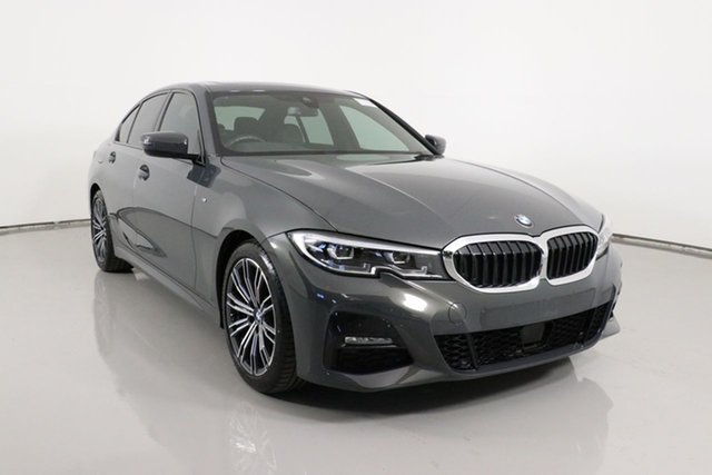 Used BMW 320d F30 LCI M Sport Bentley, 2019 BMW 320d F30 LCI M Sport Grey 8 Speed Auto Steptronic Sport Sedan