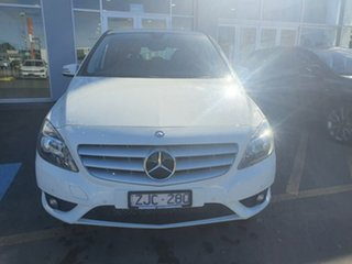 2012 Mercedes-Benz B-Class W246 B180 BlueEFFICIENCY DCT White 7 Speed Sports Automatic Dual Clutch