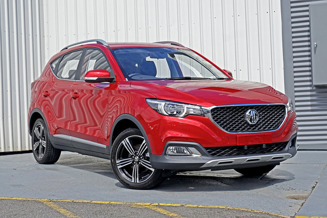New MG ZS AZS1 MY21 Essence 2WD Springwood, 2020 MG ZS AZS1 MY21 Essence 2WD Red 6 Speed Automatic Wagon