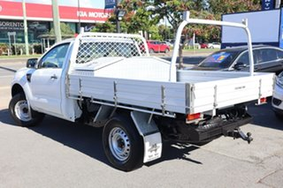2013 Ford Ranger PX XL Hi-Rider White 6 Speed Manual Cab Chassis