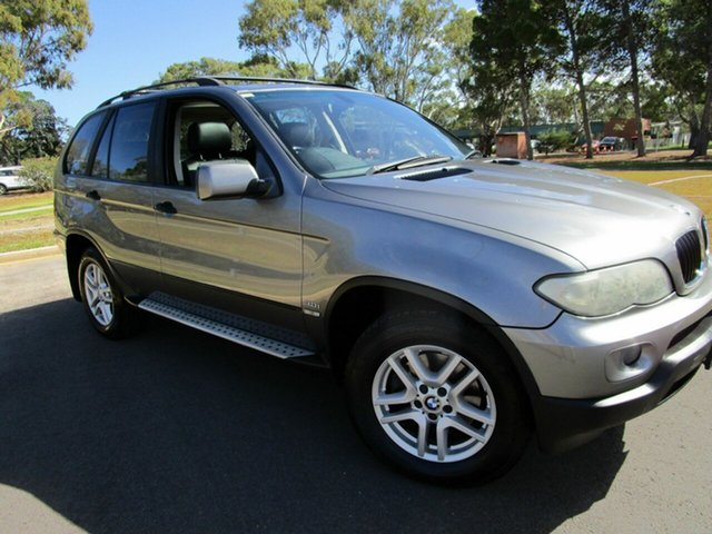 Used BMW X5 E53 3.0I Glenelg, 2004 BMW X5 E53 3.0I Grey 5 Speed Auto Steptronic Wagon