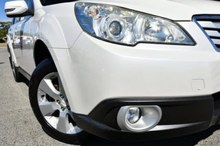 2010 Subaru Outback B5A MY10 2.5i Lineartronic AWD Premium Satin White 6 Speed Constant Variable