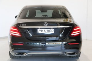 2017 Mercedes-Benz E-Class W213 808MY E300 9G-Tronic PLUS Black 9 Speed Sports Automatic Sedan