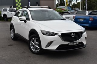 2016 Mazda CX-3 DK4W7A Maxx SKYACTIV-Drive i-ACTIV AWD White 6 Speed Sports Automatic Wagon.