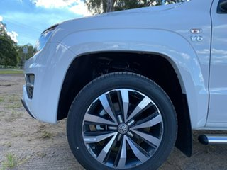 2020 Volkswagen Amarok 2H MY21 TDI580 4MOTION Perm Aventura Candy White 8 Speed Automatic Utility