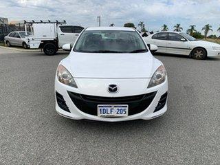 2009 Mazda 3 BK MY08 Neo Sport White 4 Speed Auto Activematic Hatchback.