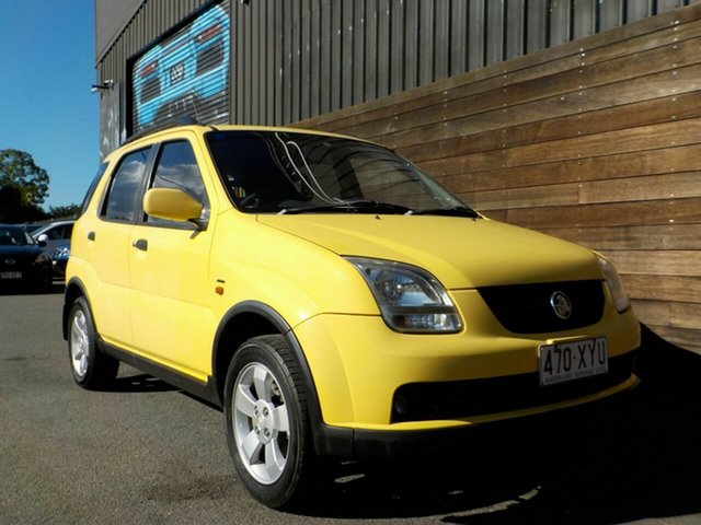 Used Holden Cruze YG Labrador, 2003 Holden Cruze YG Yellow 4 Speed Automatic Wagon