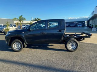 2021 Mitsubishi Triton MR MY21 GLX Double Cab Graphite Grey 6 Speed Manual Cab Chassis