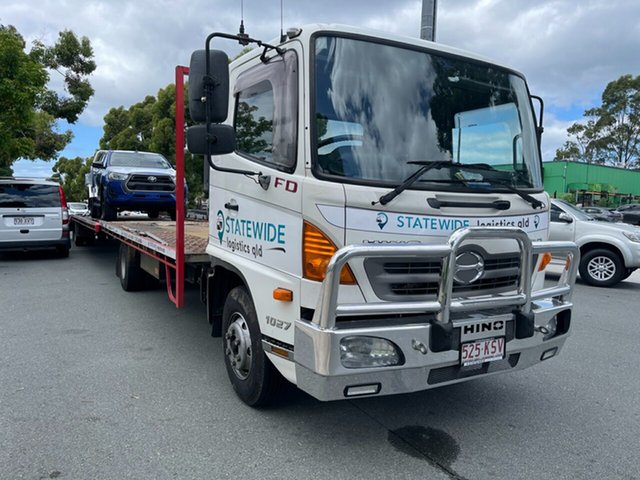 Used Hino 500 FD8J 1027 XLong Air Capalaba, 2008 Hino 500 FD8J 3 Car Carrier Tow Truck Car Transporters 7.7l 4x2