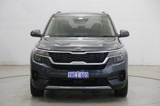 2020 Kia Seltos SP2 MY21 Sport+ 2WD Grey 1 Speed Constant Variable Wagon.