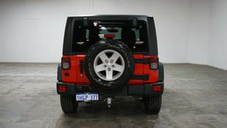 2014 Jeep Wrangler JK MY2015 Sport Red 6 Speed Manual Softtop