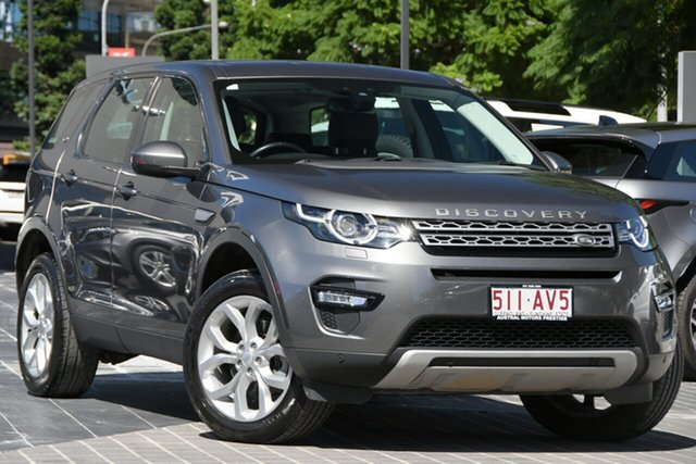Used Land Rover Discovery Sport L550 17MY HSE Newstead, 2017 Land Rover Discovery Sport L550 17MY HSE Grey 9 Speed Sports Automatic Wagon