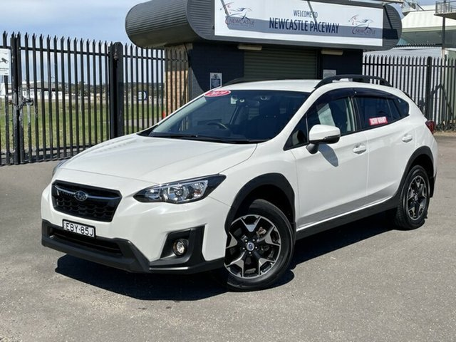 Used Subaru XV G5X MY19 2.0i-L Lineartronic AWD Newcastle, 2019 Subaru XV G5X MY19 2.0i-L Lineartronic AWD White 7 Speed Constant Variable Wagon