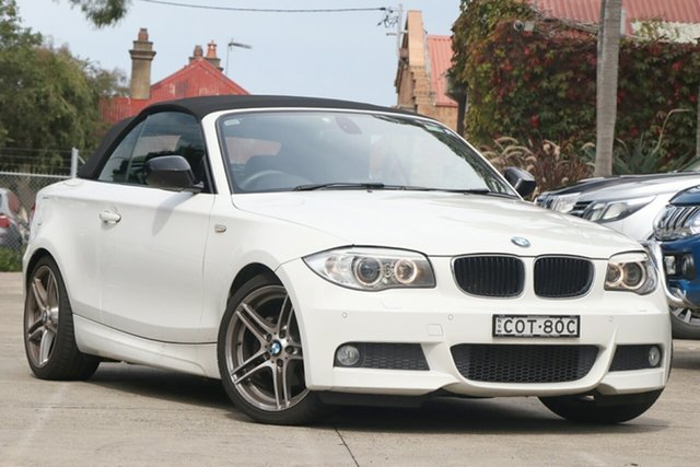 Pre-Owned BMW 120i E88 MY13 Update Mosman, 2013 BMW 120i E88 MY13 Update White 6 Speed Automatic Convertible
