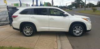 2014 Toyota Kluger GSU50R Grande 2WD White 6 Speed Sports Automatic Wagon.