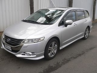 2010 Honda Odyssey 4th Gen MY10 Luxury Silver 5 Speed Sports Automatic Wagon.