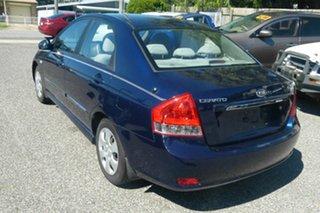 2006 Kia Cerato LD MY07 EX Blue 4 Speed Automatic Sedan.