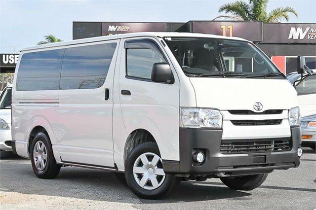 Used Toyota HiAce DX Cheltenham, 2016 Toyota HiAce KDH206V DX White Automatic Van
