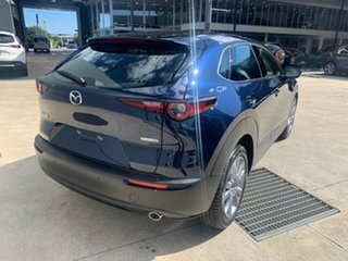 2021 Mazda CX-30 DM2W7A G20 SKYACTIV-Drive Touring Deep Crystal Blue 6 Speed Sports Automatic Wagon