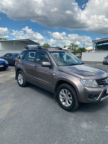 Used Suzuki Grand Vitara JB MY13 Sport North Rockhampton, 2013 Suzuki Grand Vitara JB MY13 Sport Gold 5 Speed Manual Wagon