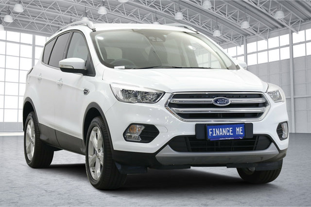 Used Ford Escape ZG 2019.25MY Trend Victoria Park, 2019 Ford Escape ZG 2019.25MY Trend White 6 Speed Sports Automatic SUV
