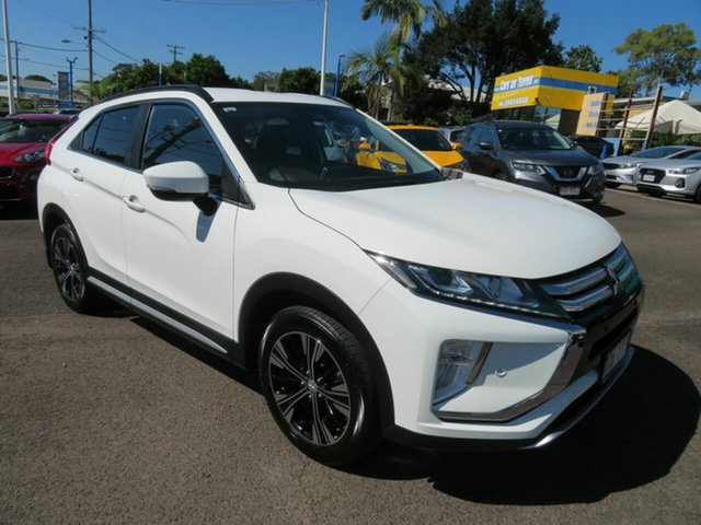 Used Mitsubishi Eclipse Cross YA MY19 LS 2WD Mount Gravatt, 2019 Mitsubishi Eclipse Cross YA MY19 LS 2WD White 8 Speed Constant Variable Wagon
