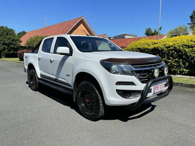 Used Holden Colorado RG LS Chermside, 2017 Holden Colorado RG LS White 6 Speed Automatic Dual Cab