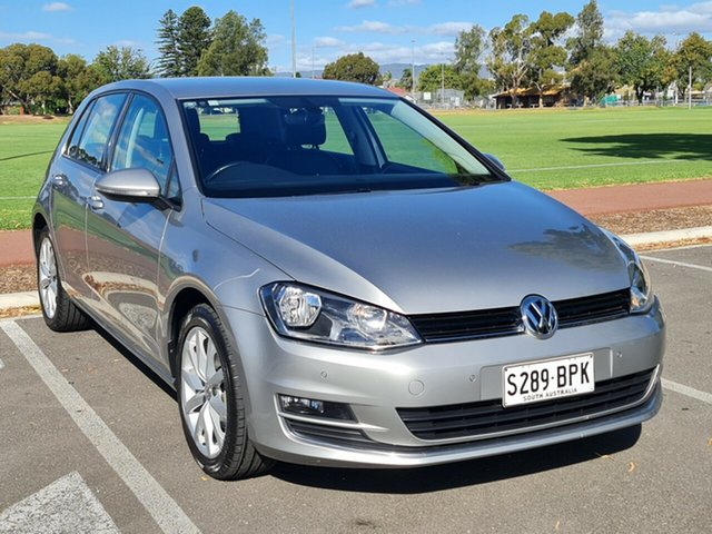 Used Volkswagen Golf VII MY17 110TSI DSG Highline Nailsworth, 2017 Volkswagen Golf VII MY17 110TSI DSG Highline Grey 7 Speed Sports Automatic Dual Clutch