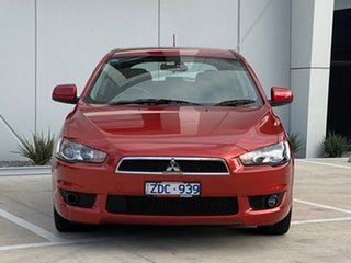 2011 Mitsubishi Lancer CJ MY11 VR Sportback Red 6 Speed Constant Variable Hatchback.