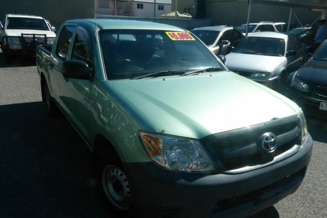 Used Toyota Hilux RZN149R MY04 4x2 Gladstone, 2005 Toyota Hilux RZN149R MY04 4x2 Green 5 Speed Manual Utility