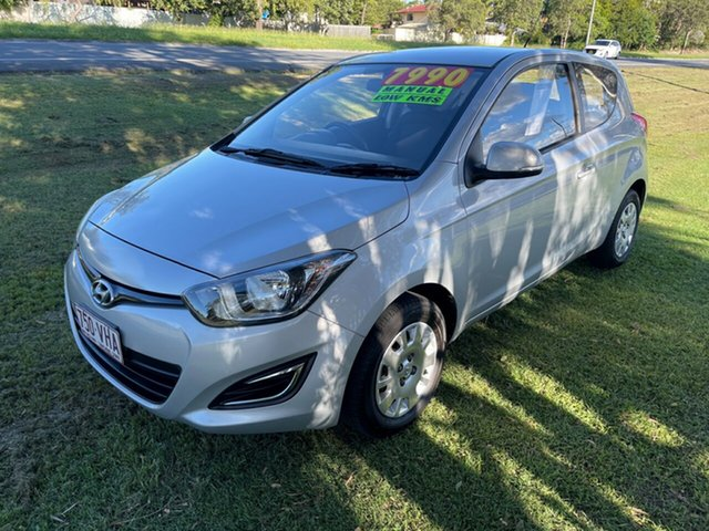 Used Hyundai i20 PB MY13 Active Clontarf, 2013 Hyundai i20 PB MY13 Active Silver 6 Speed Manual Hatchback