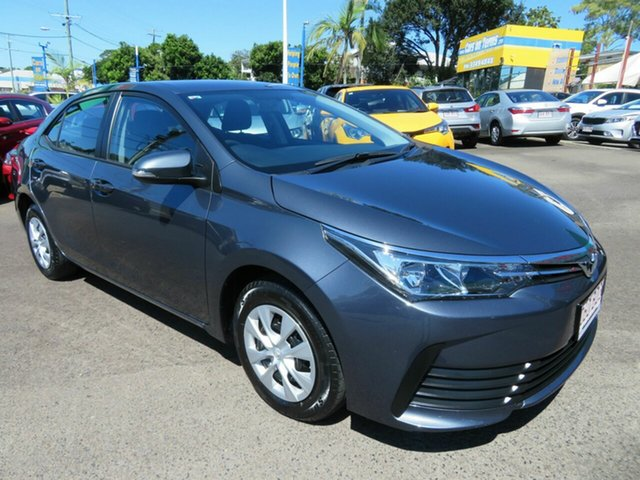Used Toyota Corolla ZRE172R Ascent S-CVT Mount Gravatt, 2018 Toyota Corolla ZRE172R Ascent S-CVT Grey 7 Speed Constant Variable Sedan